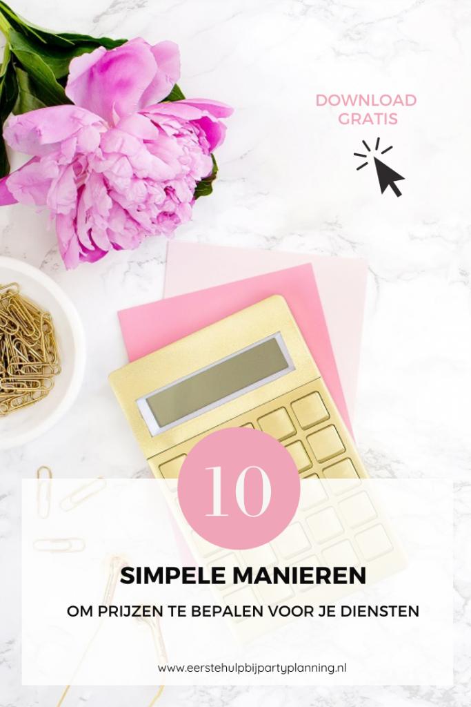 10 manieren om je prijzen te bepalen