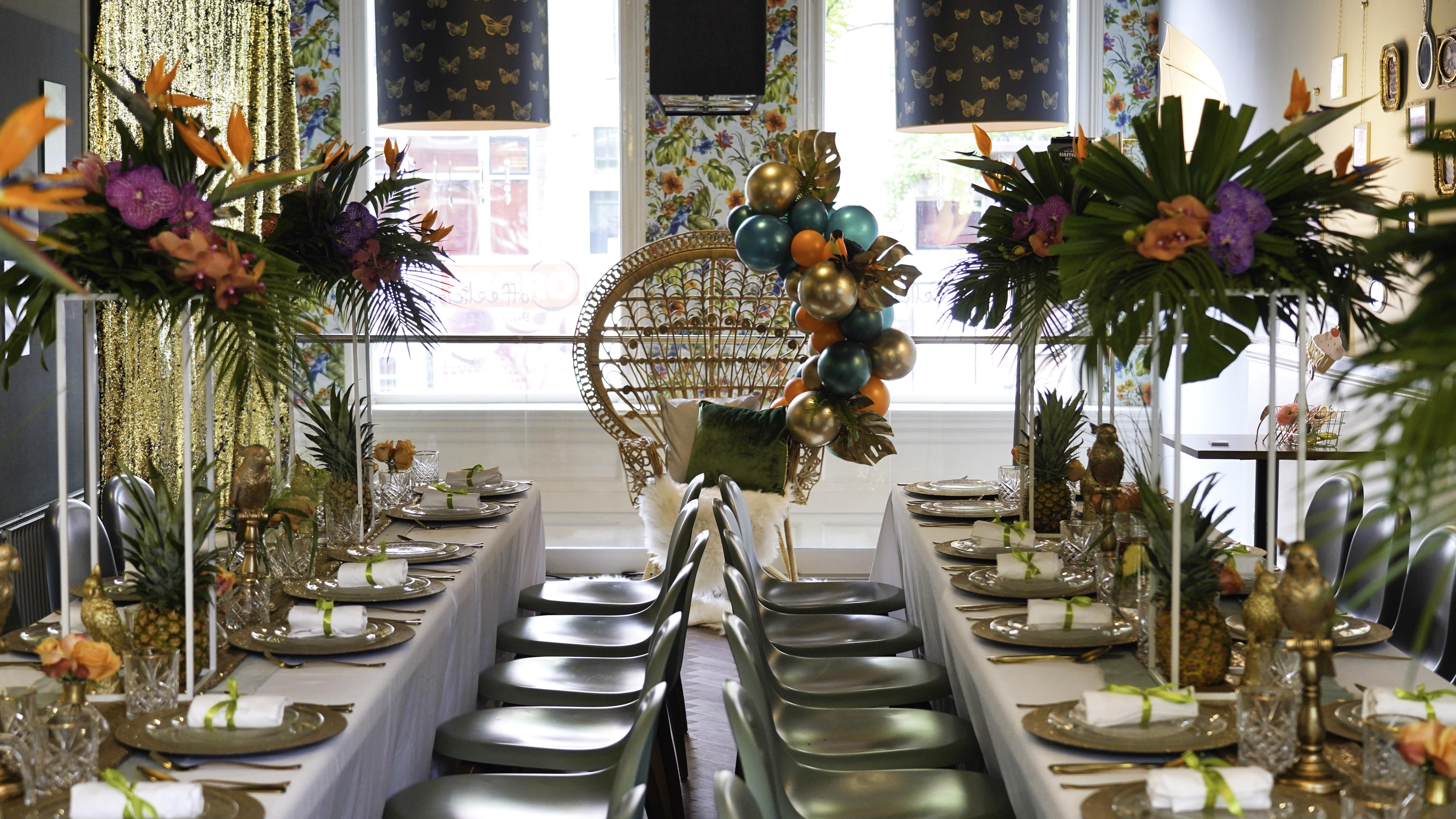 high-tea event voor party planners en stylisten