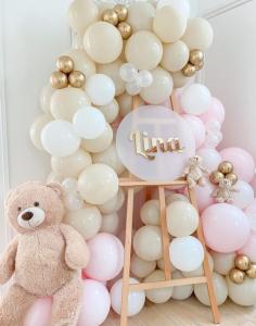 double stuffed ballondecoratie