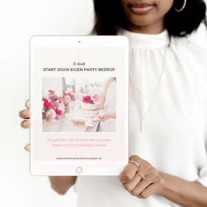 E-book: Start jouw party bedrijf €29
